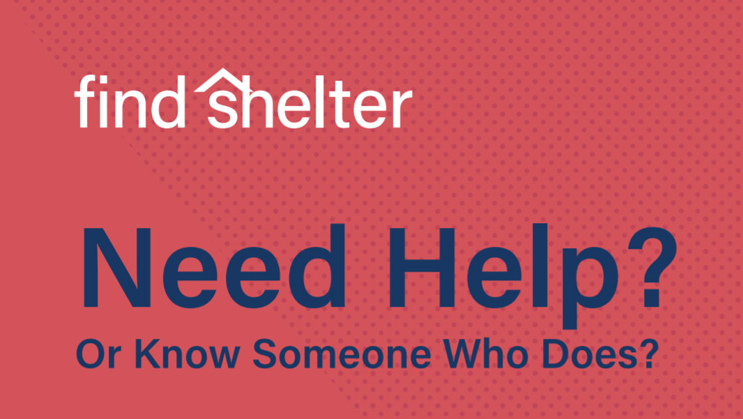 HUD Announces New Find Shelter Tool To Help Those in Need